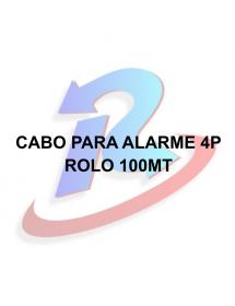 CABO PARA ALARME ULTRA 4 PARES 100M BRANCO
