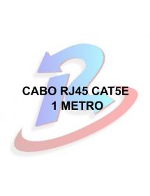 CABO DE REDE EXBOM CBX-N5C10 RJ45 CAT5E AZUL 1 METRO