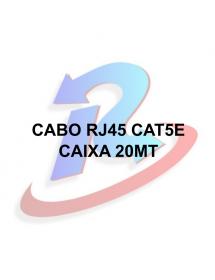 CABO DE REDE  RJ45  EXBOM CBX-N5C200 CAT5E AZUL 20M