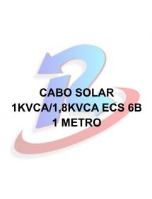 CABO SOLAR PRETO 4840001 1KVCa/1,8KVCC ECS 6B (m)