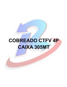 CABO PARA CFTV DNI PRETO 4 PARES 305 METROS