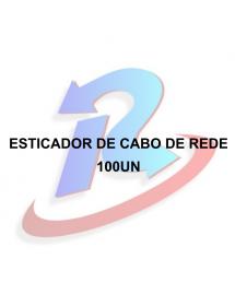 ESTICADOR DE CABO DE REDE PACOTE COM 100 PEÇAS