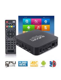 SMART TV BOX EXBOM OTT-A2 QUAD-CORE 4K ANDROID 5.1