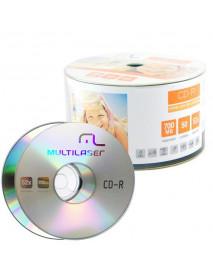 CD-R MULTILASER CD051 TRADICIONAL 700MB - VARIADOS