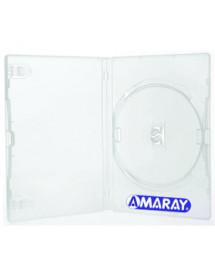 BOX P/ DVD AMARAY GROSSO ( TRANSPARENTE )