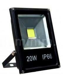 REFLETOR DE LED LCQ 20W LCQ-P20WBF PEQUENO RETANGULARES DE PAREDE