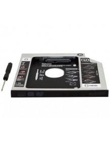 ADAPTADOR CANDDY EXBOM HDCA-S095 9.5 MM PARA HD OU SSD 2.5 SATA