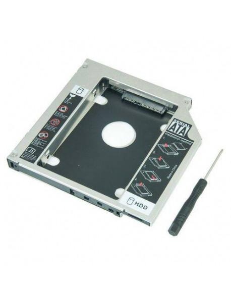 ADAPTADOR CANDDY EXBOM HDCA-S127 12.7 MM PARA HD OU SSD 2.5 SATA