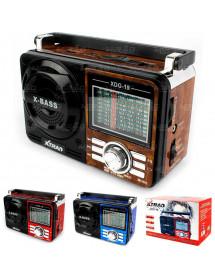 CAIXA DE SOM  XTRAD XDG-19 3W AM/FM/SW1-7 COM USB SD TF