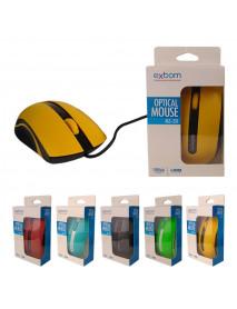 MOUSE EXBOM MS-50 USB 1000dpi