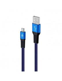 CABO X EXBOM USB V8 EM ALUMINIO 1M DE MALHA 03061