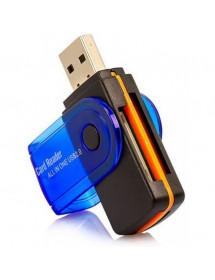 LEITOR DE CARTAO 15IN1 CARD READER USB 2.0 E8935D