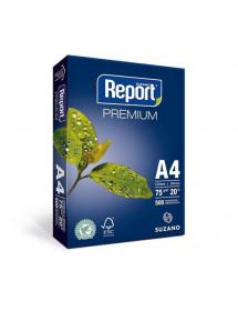 PAPEL A4 REPORT 75G MULT PREMIUM 500 FLS