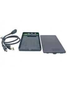 CASE EXTERNA EXBOM CGHD-20 PARA HD 2.5 SATA II USB 2.0 PRETO