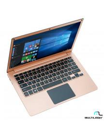 NOTEBOOK MULT. PC241 CEL 13.3 4GB/32GB/120GB SSD/ W10 DOURADO