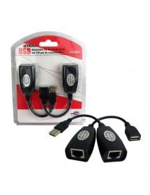 ADAPTADOR / EXTENSOR  USB P/ RJ45 XTRAD XT-2025