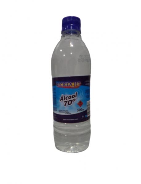 ALCOOL 70º LIQUIDO GL RECICLAJET- 500ML