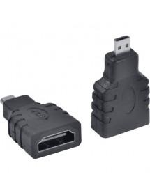 ADAPTADOR HDMI FEMEA X MICRO M - 1759