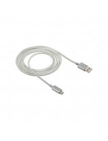 CABO PARA CELULAR USB/ V8 3,0A INTELBRAS 4830066 EUAB15NB 1,5M