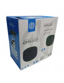CABO DE REDE PARA CFTV 4 P. 8 FIOS HOOPSON CFTV-005P PR 305 M