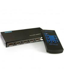 SWITCH HDMI MTX 5 ENTRADAS PARA 1 SAIDA COM CONTROLE
