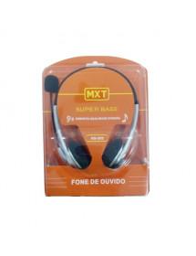 FONE C/ MICROFONE/ MXT HS-202 PLUG 3.5MM