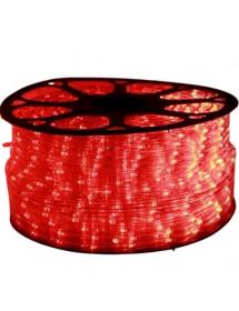 MANGUEIRA LED V8-139515 C/30 LED 13MM 100M VERMELHO 227V