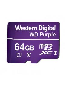 CARTAO SD 64GB 32TBW WESTERN DIGITAL 4600163 WD PURPLE
