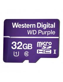 CARTAO MICRO SD 32GB 16TBW P/ SEGURANCA ELETR. WD PURPLE 4600162