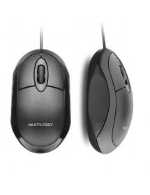 MOUSE USB MULTILASER CLASSIC BOX BLACK MO300