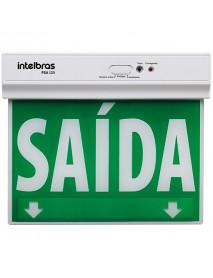 PLACA DE SINALIZAÇÃO INTELBRAS  ACESA PSA125 FACE ÚNICA 4632001