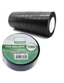 FITA ISOLANTE MXT ANTICHAMA PVC 0.15MM X 19MM 10M PAC C/10 UNI