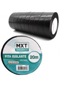 FITA ISOLANTE MXT ANTICHAMA PVC 0.15MM X 19MM 20M PAC C/10 UNI