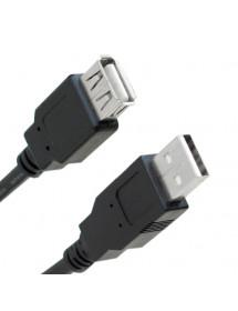 CABO USB EXTENSOR 2M  X-CELL USB-M-F