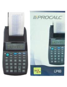 CALCULADORA COM IMPRESSAO PROCALC  LP18 12 DIGITOS