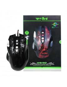 MOUSE GAMER WEIBO 3200 DPI WB-912 RGB