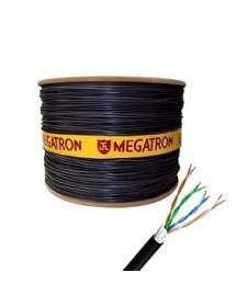 CABO LAN Cat5e 4P 100% 1500m MEGATRON PRETO