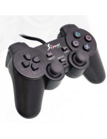 CONTROLE PARA VIDEO GAME KNUP KP-5422 COM FIO 4X1
