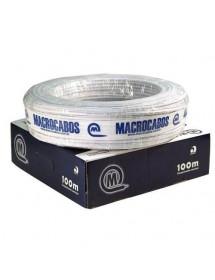 CABO CFTV MACROCABOS MULTI 0,40 4 VIAS CX 100M