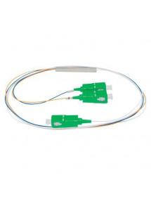 CABO OPTICO COM DIVISOR PLC (SPLITTER) 1x2 SC/APC XFS 122 INTELBRAS 4830018
