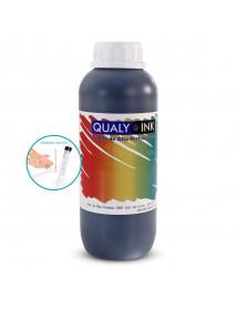 TINTA QUALY INK HP 1L PRETA SERIE 8000/8100/8500/8600 BC3H 1179