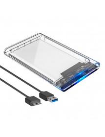 CASE PARA HD INFOKIT ECASE-300 USB 3.0 HD 2.5 SATA EXTERNO TRANSPARENTE