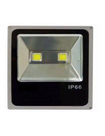 REFLETOR LED 200W EXBOM RL-C5B200W BRANCO FRIO 6500K PRATA SLIM IP66