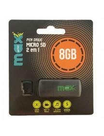 PENDRIVE 8GB MAXPRINT MICRO SD 2X1 UBS/OTG/8GB