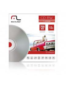 CD REGRAVAVEL 12X MULTILASER CD031 C/ ENVELOPE