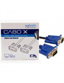 CABO VGA EXBOM CBX-MVGA100 10 METROS