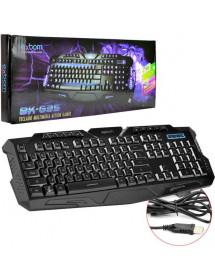 TECLADO GAMER EXBOM BK-G35 USB MULTIMIDIA ACTION