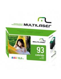 CARTUCHO MULTILASER COMPATIVEL 93XL COLOR CO093