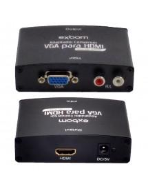 CONVERSOR VGA FEMEA PARA HDMI OUTPUT - INPUT