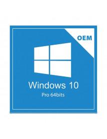 MICROSOFT WINDOWS 10 PRO 64 BIT OEM COA FQC-08932 (BR)